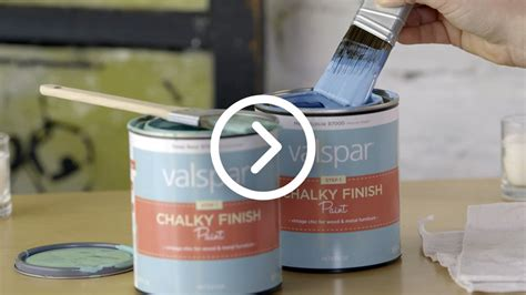 Enamel Top Cabinet by Valspar Chalky Paint Finish