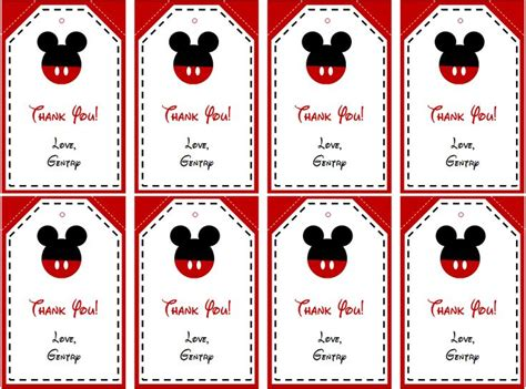 printable minnie mouse christmas gift tags 34 best images about mickey mouse party on pinterest