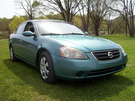 Nissan Altima Gas Mileage by Purchase Used 2002 Nissan Altima 2 5l Sedan Great Gas