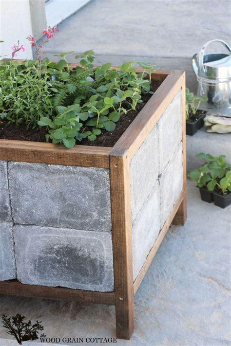 diy paver planter planter boxes stone planters diy patio