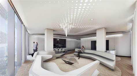 pavimenti da sogno pareti ondulate finestre dal pavimento al soffitto le