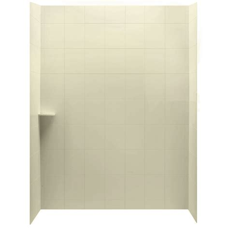 Lowes Shower Wall Panels by Shop American Standard Ciencia 30 In W X 60 In D X 60 In H