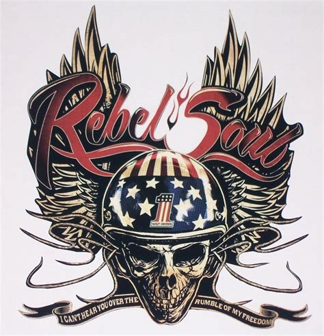 harley kid rock rebel soul color decal sticker