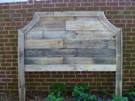 headboard made out of pallets pallet headboards