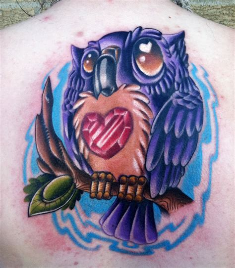 new school tattoo new school owl www pixshark images