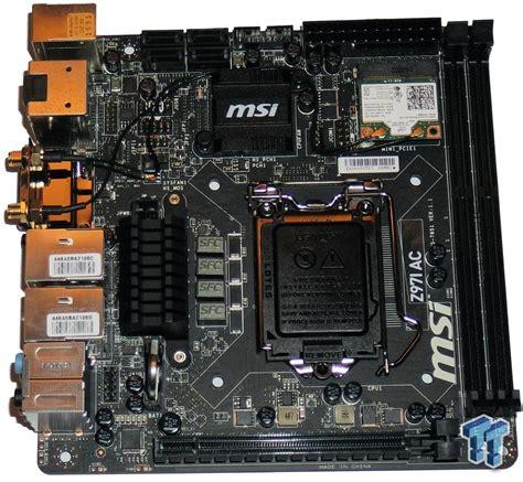Msi Z97i Ac msi z97i ac intel z97 mini itx motherboard review