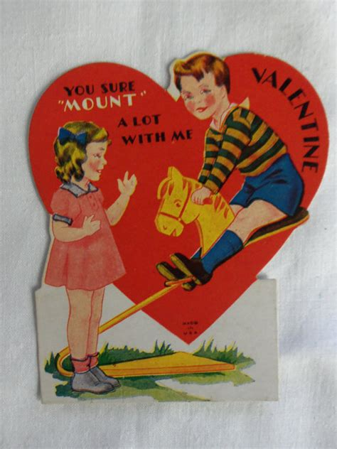 vintage valentines day cards wow that got inappropriate 27 and creepy