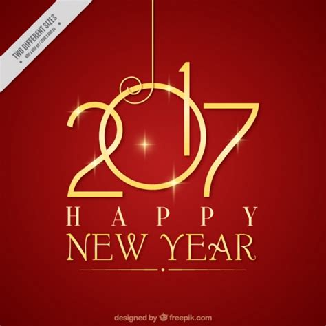 new year 2017 pictures background of golden happy new year 2017 vector free