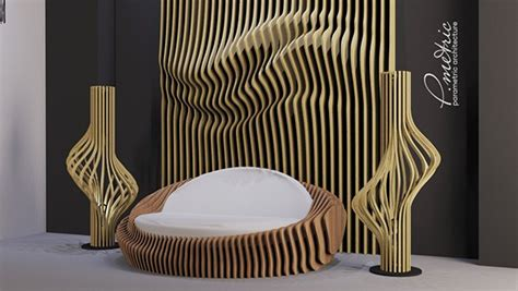 parametric sofa  behance
