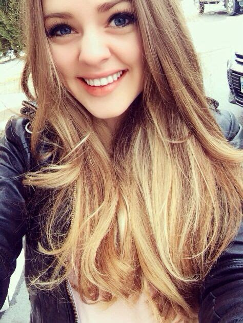 blonde hair ombred in to brown images light brown to blonde ombre sombre hair pinterest