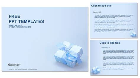 Gift Recreation Powerpoint Templates Gift Powerpoint Template