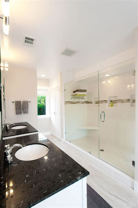 transitional style bathrooms transitional design style bathrooms by one week bath