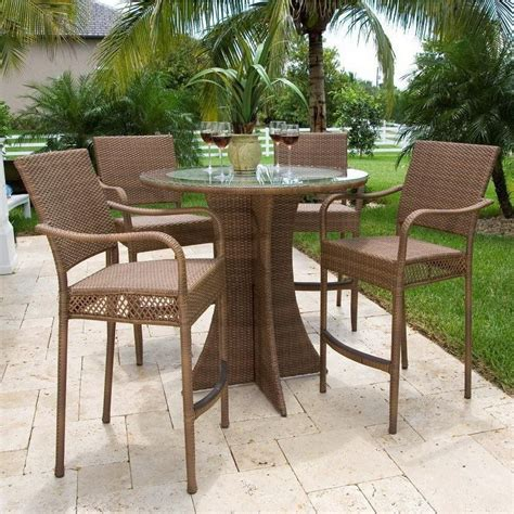 backyard table and chairs patio table chairs tall images backyard patio ideas