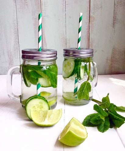 Cucumber Detox Water Without Mint by Cucumber Mint Lime Detox Water Tasty Kitchen A Happy