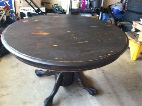 black distressed kitchen table distressed kitchen table diy