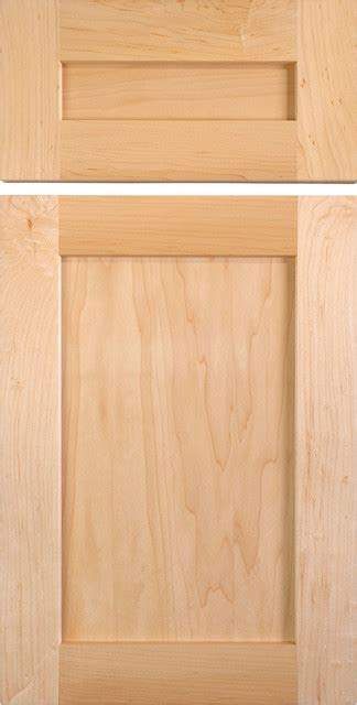 Maple Cabinet Door Shaker Style Cabinet Doors In Maple Traditional Kitchen Cabinetry Other Metro By