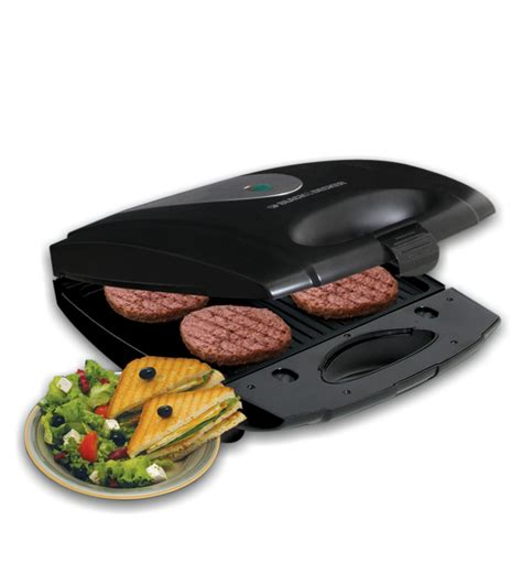 sandwich maker black and decker black decker ts4080 4 slice interchangable plate