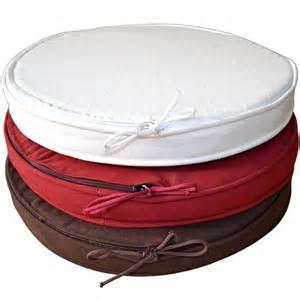 galette de chaise ronde chocolat