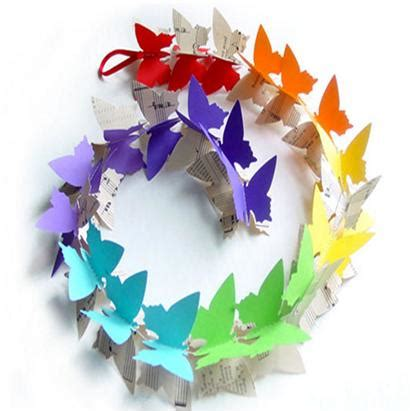 How To Make A Paper Butterfly For - easy way of paper butterfly
