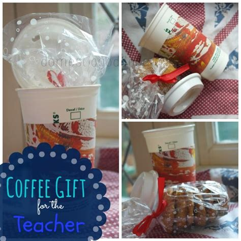 christmas coffee gift for the teacher gifts pinterest