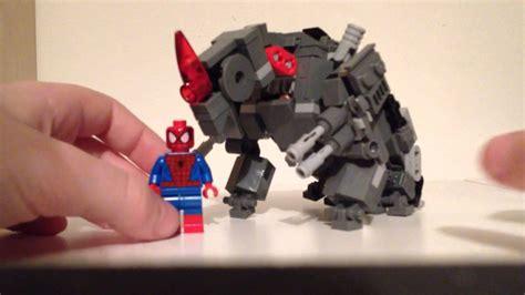 Lego Rhino Tutorial | lego the amazing spider man 2 rhino www imgkid com the