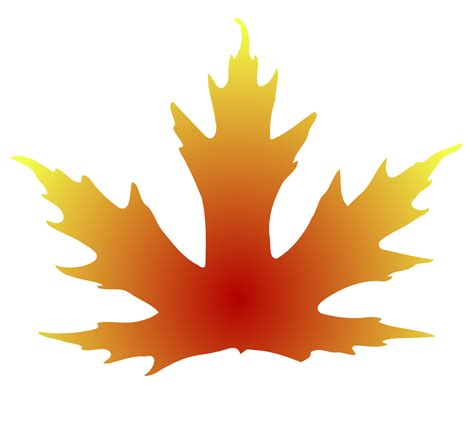 onlinelabels clip art maple leaf