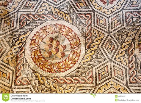 libro souvenirs dormants roman roman mosaics stock photo image 49078189