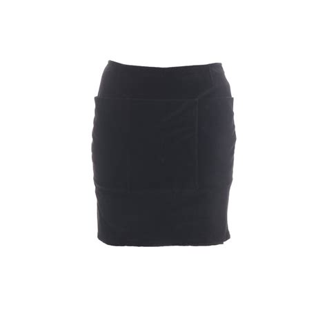 helmut lang helmut lang womens pencil skirt black