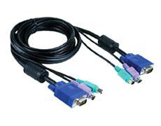 Diskon D Link Dkvm Cb5 Kvm Cable 4 5 Meter d link dkvm cb kvm