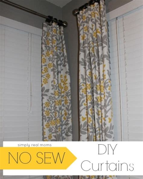 diy no sew curtains simply made sunday diy no sew curtains