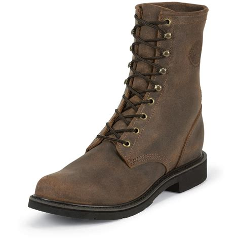 american boots justin original 8 quot american traditionals lace r boots