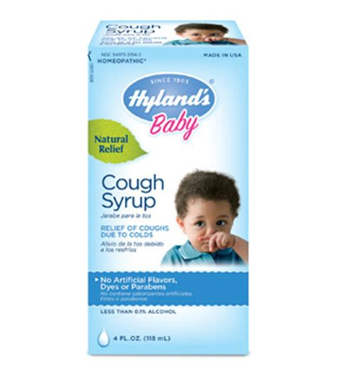 3 Month Baby Cold Medicine by Hyland S Baby Cough Syrup Hyland S Homeopathic