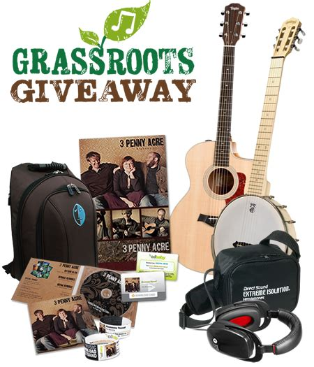 Guitar Contests And Giveaways - oasis grassroots giveaway