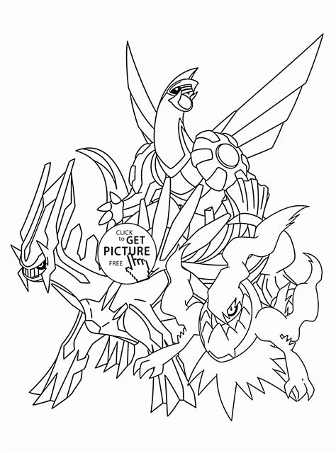 coloring pictures of pokemon legendaries legendary pokemon coloring pages for kids pokemon