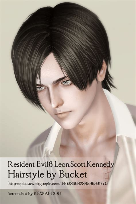 leons kennedy hairstyle for men leons kennedy hairstyle for men leon kewai dou
