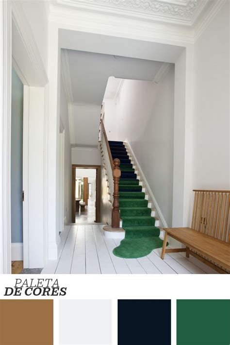oga home design products d 233 cor do dia tapete divertido na escada corredor branco