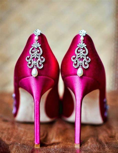 pink wedding wedding shoes 2027052 weddbook
