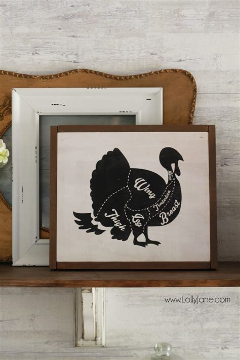 home decor turkey turkey butcher chart diagram free printable