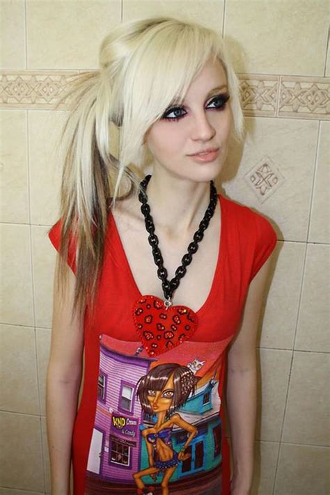 emo hairstyles ponytail 68 sexy expressive emo hairstyles for every occasion