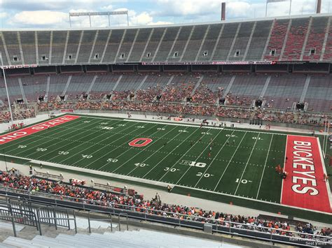 Section 25c by Ohio Stadium Section 25c Rateyourseats
