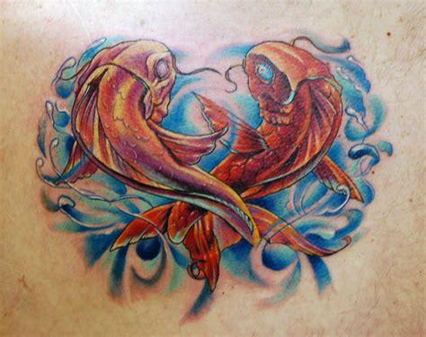 couple koi tattoo the married couple symbolic tattoos tattoomagz