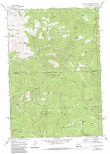 opal mountain topographic map or usgs topo 44120e5