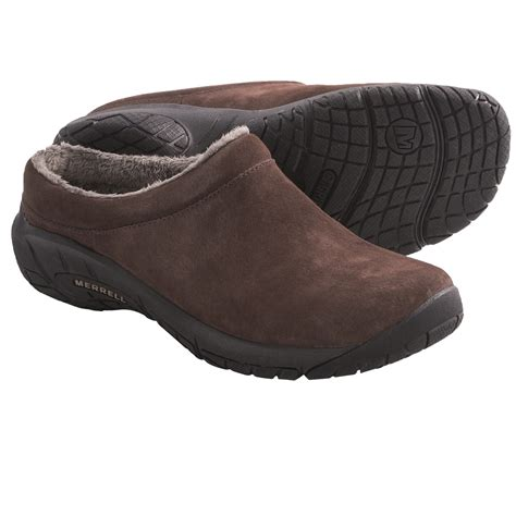 suede clogs for merrell encore clogs suede for