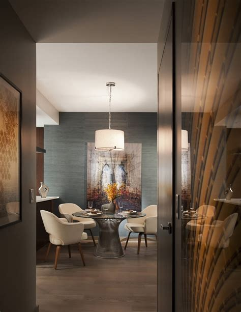 Eclectic Manhattan Apartment Terrat Elms Interior Design Manhattan Apartment Design