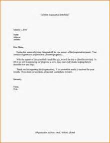giving a donation letter template exle of letter giving a donation 3 donation letter for
