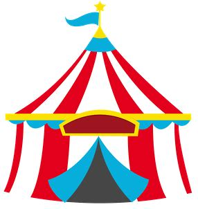 Tent Card Png Template Free by Circus Tent Circus Carnivals Fairs Svg