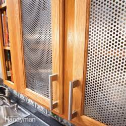 how to change cabinet doors from metal to wood wooden