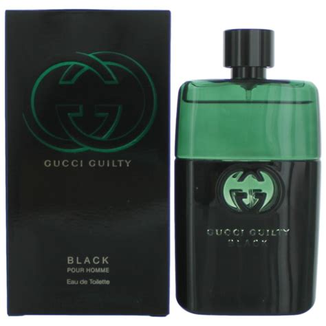 gucci guilty black cologne by gucci 3 oz edt spray for new ebay