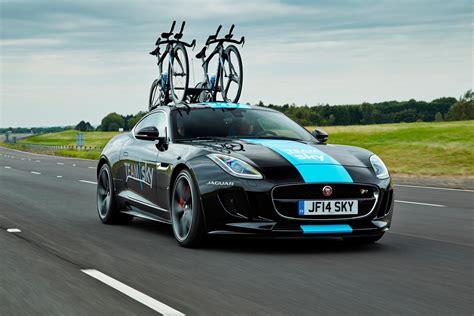 Carbon Fiber Bike Rack by Jaguar F Type Gets Carbon Fiber Bike Rack For Tour De
