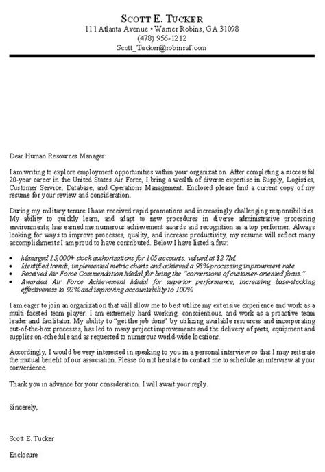 cover letter usa federal government resume exle http www